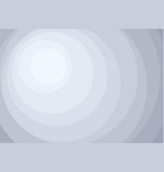 abstract white and gray circles layers pattern vector image