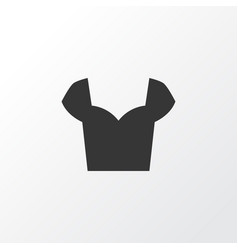 Blouse icon symbol premium quality isolated shirt vector