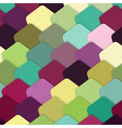 Colorful grunge tiles vector image