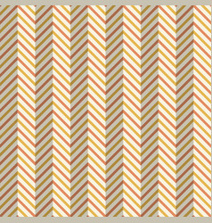 Abstract seamless fashion zigzag pattern vector