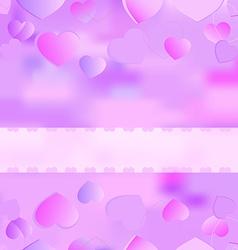 background for valentine vector image