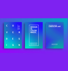 geometric covers design future web pattern vector image
