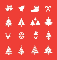 Set of christmas icon vol 1 vector