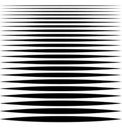 set sharp horizontal lines different profile vector image