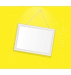 Vintage Photo Frame background vector image vector image