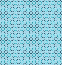 Abstract seamless background with grunge circles vector image vector image