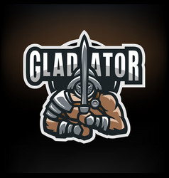 1 gladiator vector image