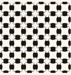 abstract black and white geometric seamless vector image