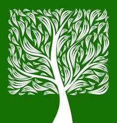 Art tree vector