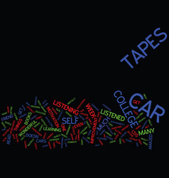 Enroll in car college text background word cloud vector