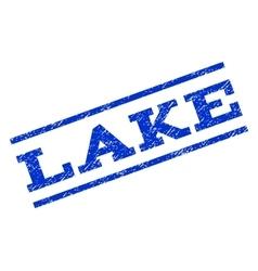 Lake watermark stamp vector