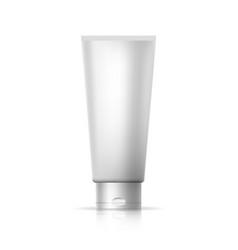 Mockup cosmetic tube vector