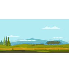 Nature landscape background vector