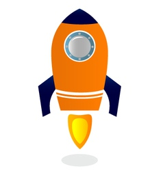 Rocket Ship vector image