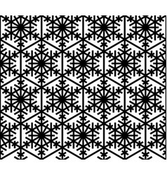 seamless traditional japanese pattern kumiko in vector image