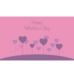valentine theme collection vector image