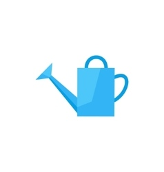 flat icon watering can vector image