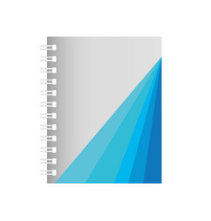 notebook icon image vector image vector image