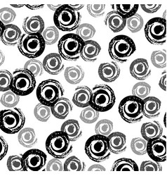 seamless pattern grunge hand draw vector image