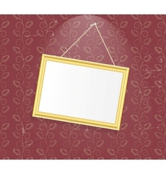 Vintage Photo Frame background vector image vector image