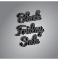 Poster Black Friday vector image vector image