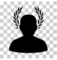 Caesar icon vector
