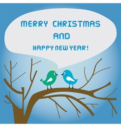 Christmas greeting card20 vector image