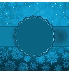 Cute color christmas card EPS 8 vector