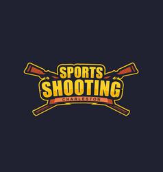 modern professional logo emblem sports vector image