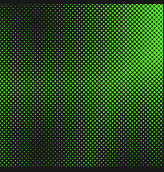 retro halftone dot pattern background from circles vector image