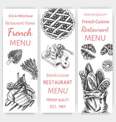 Sketch - breakfast card menu vector
