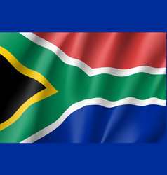 South africa flag vector