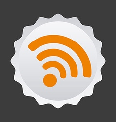 wifi service vector image