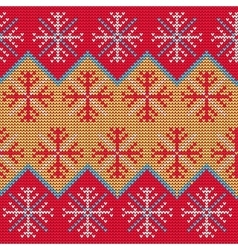 Christmas Sweater Pattern9 vector image