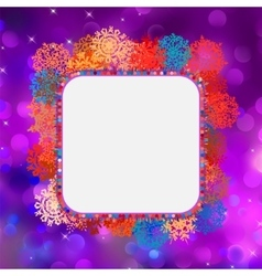 Glittery coloeful Christmas background EPS 8 vector