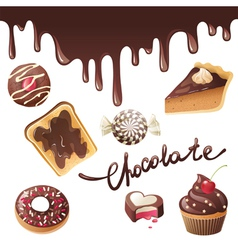 New chocolate vector