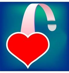 Heart Wobbler vector image