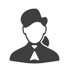 Consultant woman icon vector image vector image