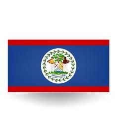Belize Flag vector image