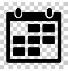 Calendar month icon vector