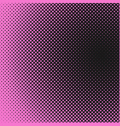 halftone dot background pattern template vector image