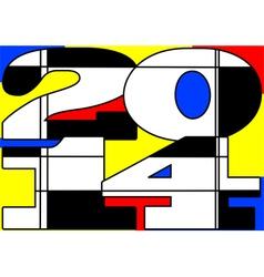 Mondrian 2014 vector