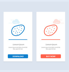 potato food blue and red download and buy now web vector image