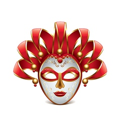Venice mask isolated vector