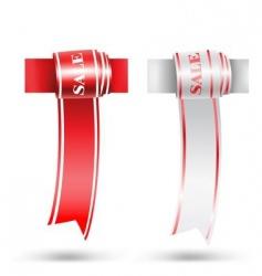 ribbons illustration vector image vector image