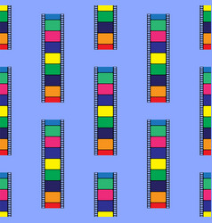 colored stripe seamless pattern vector image