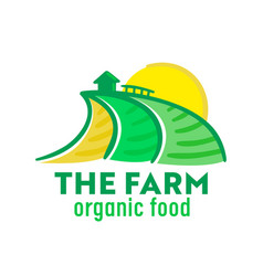 Farm organic food farmer market banner vector