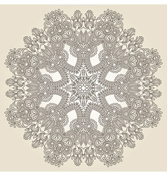 Geometric doily patter vector