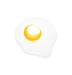 icon of omelette for decoration of kitchen vector image