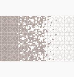 Moroccan islamic pattern tile seamless vector